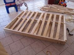 (Re)Building a Bed Foundation : 12 Steps (with Pictures) - Instructables