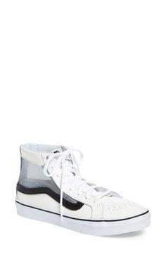 VANS 'Sf' Lace-Up Sneaker (Women). #vans #shoes #flats