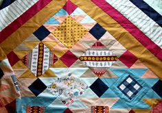 Wild & Free quilt top finish! | Flickr - Photo Sharing!