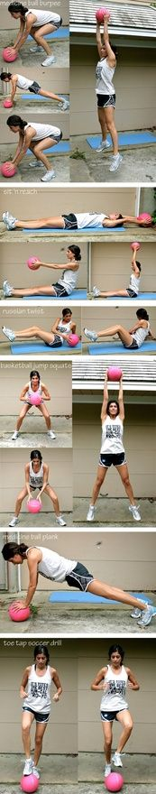 Medicine Ball Workouts offer much needed diversity to your crossfit workouts.