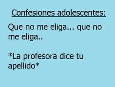 Confesiones Adolescentes (elija*)