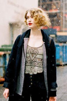 Vanessa Jackman: New York Fashion Week AW 2012...Eve
