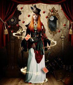Steampunk divination... Love the hair!
