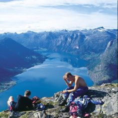 The Fjords in Norway- TBT from some Oslo Study Abroad Students