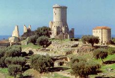 torre di Velia, Ascea ( SA) , Campania, South of Italy