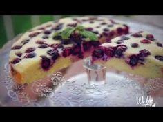 Fit recept: Tvarohový koláč s čučoriedkami - Diva.sk