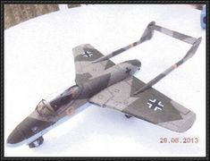 Focke-Wulf P VII Flitzer Fighter Free Aircraft Paper Model Download - http://www.papercraftsquare.com/focke-wulf-p-vii-flitzer-fighter-free-aircraft-paper-model-download.html