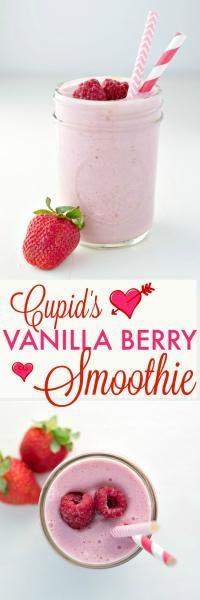 Cupid\\\'s Vanilla Berry Smoothie