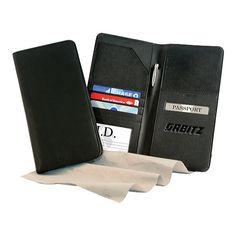 Passport Holder Case Feather Heart Protective Premium Leather RFID Blocking Wallet Case for Passport