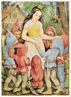 Snow White and the Seven Dwarfs illus.