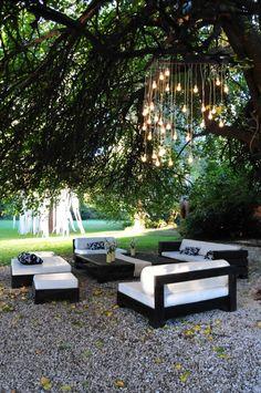 ambientacion jardin Fiesta 15 años by POINT Produccion Integral de Eventos  Organizacion general  Ambientacion super personalizada  y muchisimo mass!!!  pdpointproducciones@gmail.com