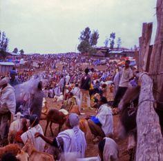 o mundo cabe no buraco da agulha: Mercado, Lalibela, Etiópia