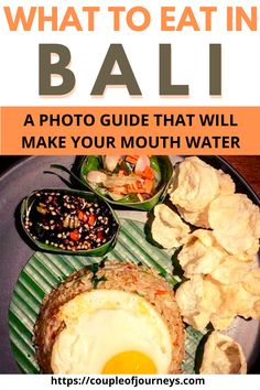 In case you are wondering what to eat in Bali, here is an ultimate Bali food guide in the form of photos that will take you through all the Balinese dishes that you get to explore as a tourist in Bali. These include traditional Balinese dishes as well as some tourist-friendly food in Bali. You will also find information on vegan food in Bali, vegetarian food in Bali and healthy food in Bali. You will also find out all about the street food in Bali. #Bali #Indonesia #Coupleofjourneys Vegetarian Food, Vegan Food, Healthy Food, Healthy Recipes, Food Inspiration, Travel Inspiration, Drink Bucket, Mouth Watering Food, Good Foods To Eat