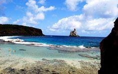 Vista Trilha e Mergulho na Praia do Atalaia em Fernando de Noronha caseme