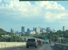 Beautiful Nashville Skyline.