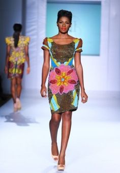 African Prints in Fashion: Prints of the Week: Iconic Invanity