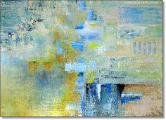 Wall Art Print On Canvas Giclee Abstract by ORIGINALARTbyANDREA