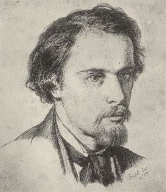 Self portrait (1855) D G Rossetti