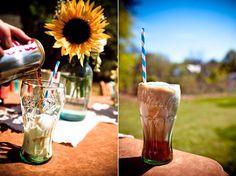 country-fair-wedding-root-beer-floats  @David Phillipo