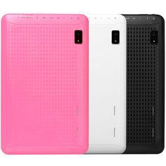 Mettez de la couleur dans vos objets High tech ! Tablette tactile 10 pouces Quad Core rose, blanche ou noire >97€49