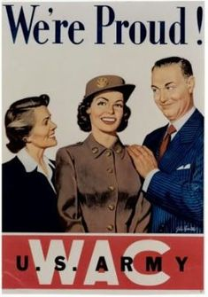 wacs world war 2 | world war two poster for the wacs the women s army corps ...