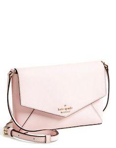 Kate Spade, blush pink cross-body bag