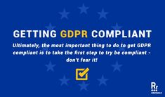 Get GDPR Compliant for WordPress Wordpress Guide, General Data Protection Regulation, Do Not Fear, Take The First Step, Survival Guide, Web Development, Survival Guide Book