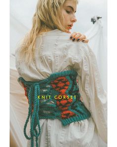 SHEL'TTER - Instagram写真(インスタグラム)「KNIT CORSET. ━━━━━━━━━━━━━━━ ■キリム柄ジャガードニットコルセット(Rodeo Crowns) 柄MINT/柄RED/柄NVY ¥4,990(+TAX) ━━━━━━━━━━━━━━━ #SHELTTERSTYLEBOOK #sheltter #theshelttertokyo #coordinate #styling #outfit #outfitpost #ootd #RodeoCrowns」10月14日 15時51分