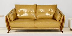 Our sofas to handcraft by our skilled staff with high end latest industry machineries in widely spread factory. Being a multi-purpose product, sofas are usually the most raided piece of furniture in your house. Due to its variability in styles, sizes, and shapes, it complements the decor of any household. However, a plush leather sofa is something every person should look forward to due to the strong aesthetics and contemporary looks. These leather sofa sets can not only be used for business… Yellow Leather Sofas, Leather Sofa Set, Leather Furniture, Sofa Set Price, Sofa Set Online, Sofa Set Designs, Types Of Sofas, Three Seater Sofa, Futuristic Design