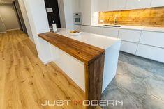 Tre benkeplater 1 - Just Modern Kitchen Island, Modern, Home Decor, Island Kitchen, Trendy Tree, Decoration Home, Room Decor, Home Interior Design, Home Decoration