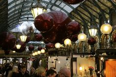 London, Covent Garden, Christmas || 2013 - amazing market!