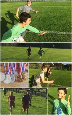 An Action Packed Sports Party - with Bubble Soccer Bubble Soccer, Relay Races, Sports Party, Football Field, Parenting, Action, Racing, Football Pitch, Running