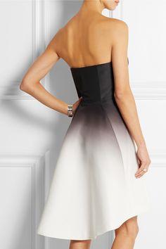 Halston Heritage|Ombré faille dress|NET-A-PORTER.COM