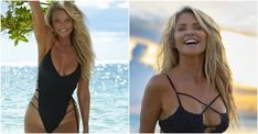 'Sports Illustrated' Swimsuit Model Reveals What She Eats In A Single Day Swimsuits, Bikinis, Swimwear, Before And After Weightloss, Swimsuit Edition, Elle Macpherson, Si Swimsuit, Sexy Shorts, Singles Day