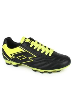 Get home the new Spider IX TX by lotto, an amazing shoe that will make you keep going in the field. A lightweight shoe that provides a great run available in attractive colour combination of black & yellow. Provides both comfort and an amazing grip over a firm ground surface. Puntoflex technology allows the foot to flex and gives an elastic return.