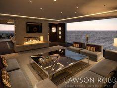 Private Yacht - Lawson Robb Associates www.lawsonrobb.com Architecture . Interiors . Yachts