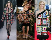 Catwalk Snap! Paul Smith Takes on The Blanket Dress
