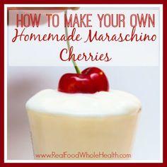 How to Make Homemade Maraschino Cherries