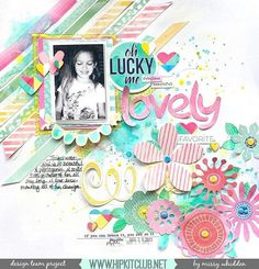 Check out this lovely LO created by designer @missywhidden #march2016 kits…