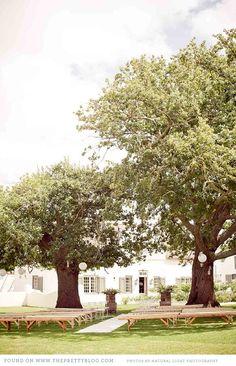 greyton-elegant-farm Love this ceremony set up! Farm Wedding, Dream Wedding, Rustic Bench, Wedding Venues, Wedding Ideas, Cold Day, My Happy Place, Event Decor, Event Planning