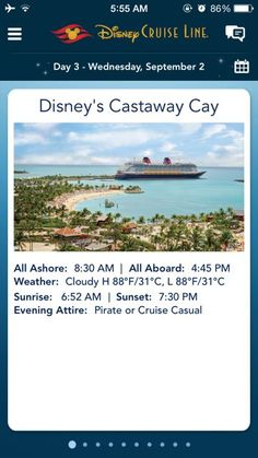 What You Need To Know About the Disney Cruise Line App disney cruise, crusing with disney #disney #cruise #cruising