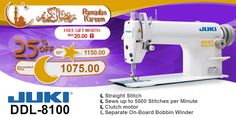 Juki DDL-8100 #ramadan #kareem #discount #sale #sewing #machine #juki #stitch #fashion #online #mall