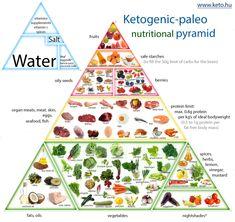 Dietary Food Pyramid 2014 Ketogenic Paleo Nutrition Pyramid The Keto Food Pyramid, Nutrition Pyramid, Paleo Nutrition, Sport Nutrition, Nutrition Club, Nutrition Month, Nutrition Quotes, Holistic Nutrition, Paleo Food List