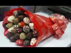 Fresas Cubiertas de Chocolate - ¡Para San Valentín! - YouTube