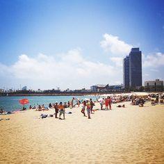 10x genieten op het strand van Barcelona