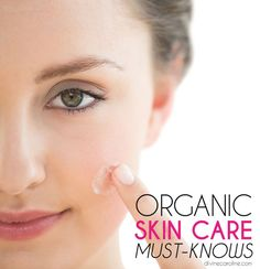 """Get back to basics with organic skin care products. We talked to professionals about what you should look for past the """"organic"""" label. #organic #organicskincare #skincare"""