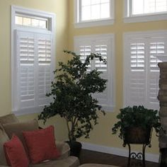 Living Room Plantation Shutters Design, Pictures, Remodel, Decor and Ideas - page 3