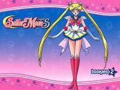 "Super Sailor Moon from ""Sailor Moon"" anime and manga series by artist Naoko Takeuchi."