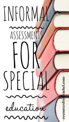 Assessments in special education. Informal assessments for special education in the areas of Reading, Writing, and Math. Two versions: one printable (pdf) and one digital (interactive and to be used with Google Classroom™) . . . #informalassessmentsforspecialeducation #specialeducation #sped #specialed #datacollection #progressmonitoring #assessmentsforspecialeducation Teacher Blogs, Teacher Hacks, Teacher Resources, Resource Teacher, Reading Resources, Teaching Activities, Teaching Tools, Teaching Math, Special Education Classroom