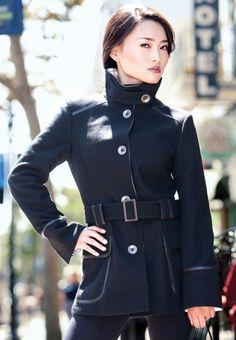 Vêtements moto pour femme GoGo Gear Trench jacket et Military Coat